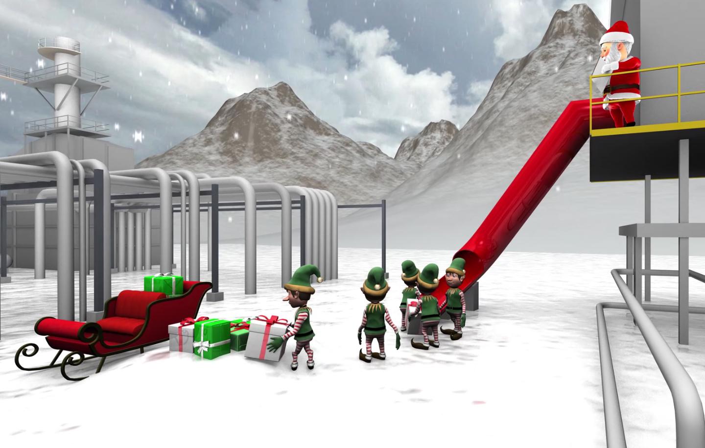 Christmas Card Animation